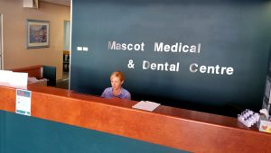 mascot-medical-reception